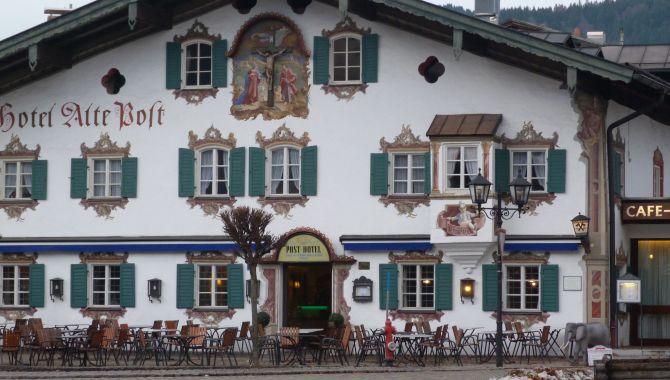 Oberammergau facade typique