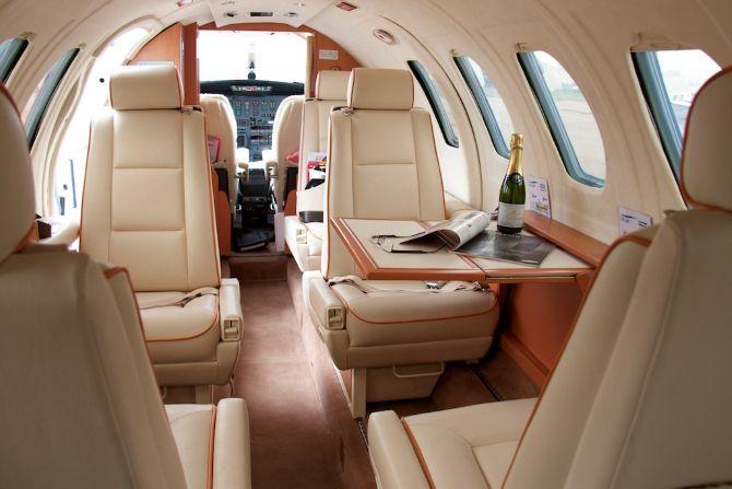 Le Jet intérieur avion