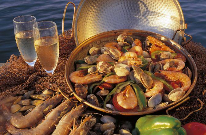 Faro fruits de mer