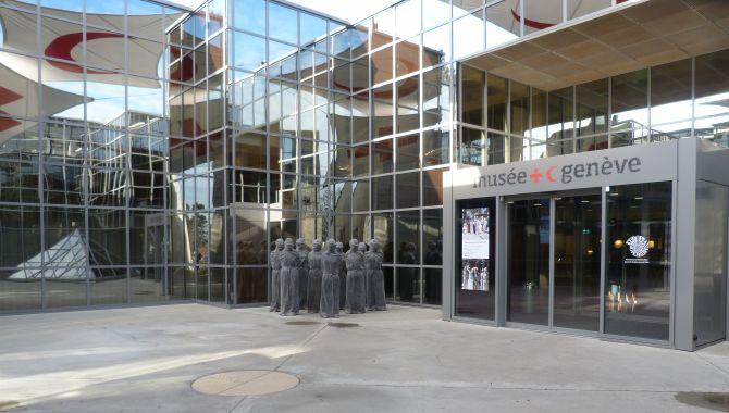 Geneve musee croix rouge entree