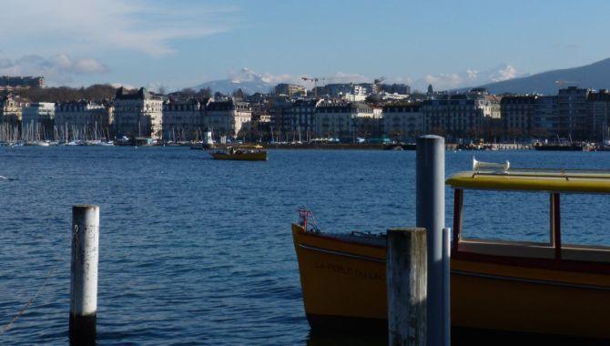Geneve vue depuis le lac
