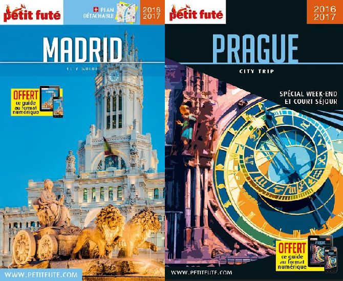Petit Fute Madrid Prague