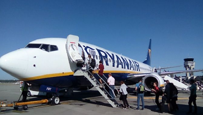 Ryanair Toulouse boarding