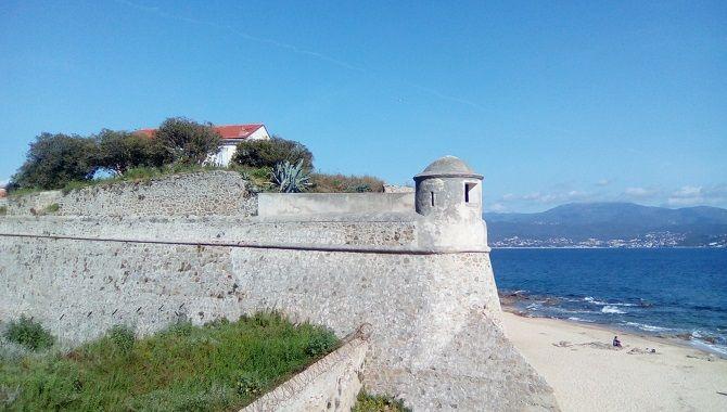 Ajaccio citadelle