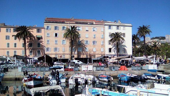 Ajaccio port Tino Rossi