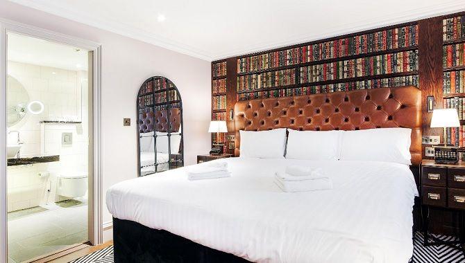 Edimbourg Indigo Princes chambre