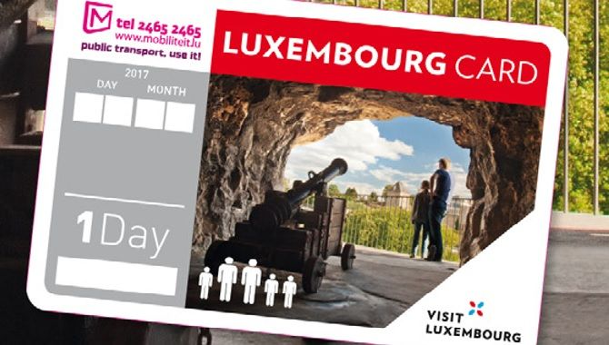 Luxembourg card