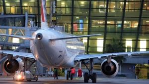 NCE avion au contact