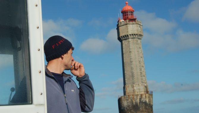 Brest Ouessant sortie en mer Kalon Eusa