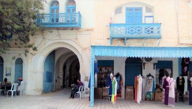 Djerba Houmt Souk maisons maltaises