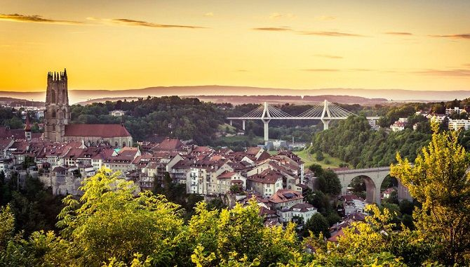 Fribourg panoramique