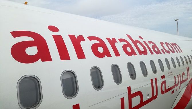 Air Arabia fuselage
