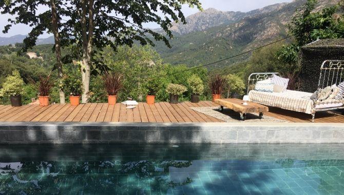 Corse Casa Santa Lucia piscine