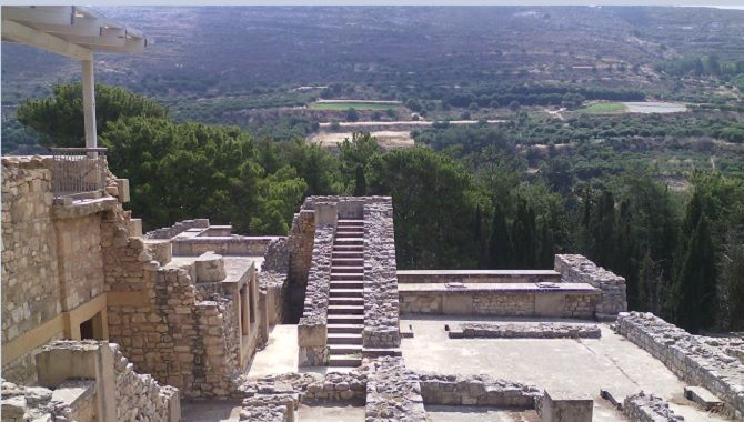 Heraklion site Knossos