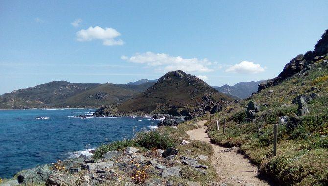 Corse chemin littoral
