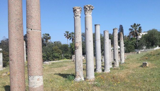 Tunis Carthage colonnes