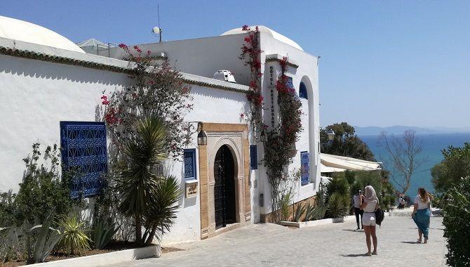 Tunis Sidi Bou Said villa bleue