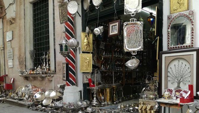 Tunis medina souk