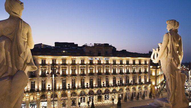 Bordeaux InterContinental facade