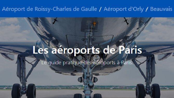 Assurance Location Voiture guide aeroports Paris
