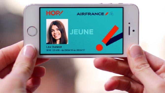 Hop Air France carte Jeune