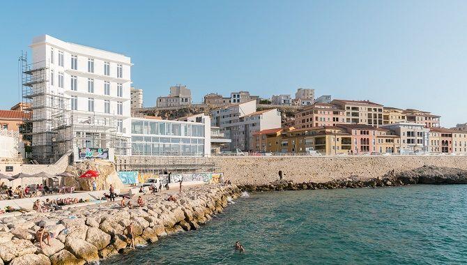 Marseille Bords de mer exterieur