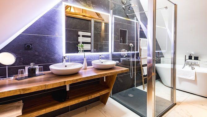 Normandie Clos Abbe salle de bain