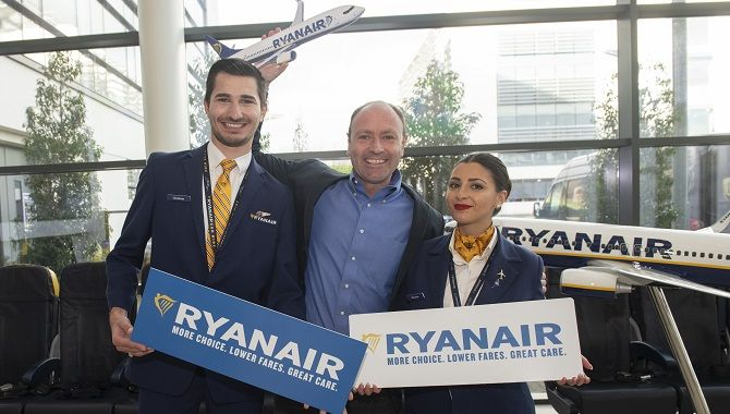 Ryanair Kenny Jacobs Choice