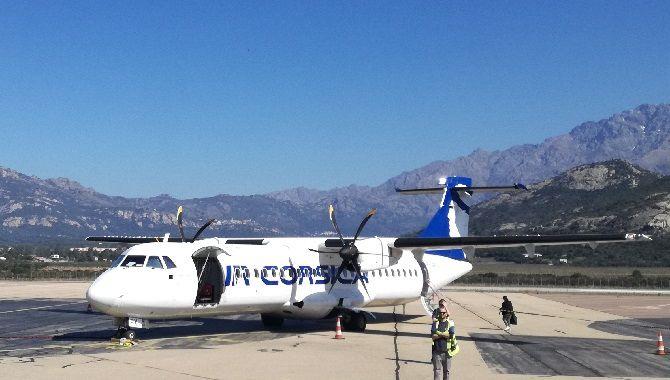 Corse Air Corsica ATR Calvi