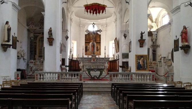 Corse Calvi eglise Sainte Marie