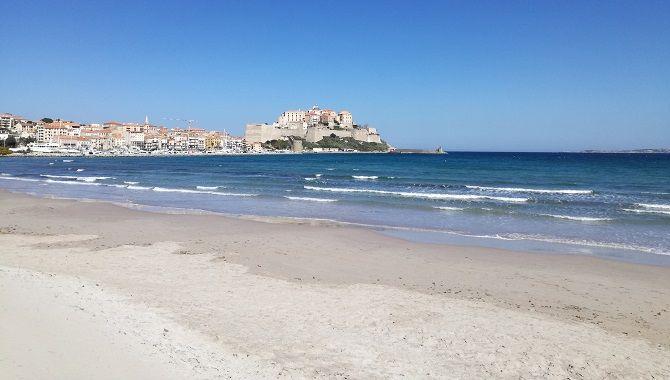 Corse Calvi plage