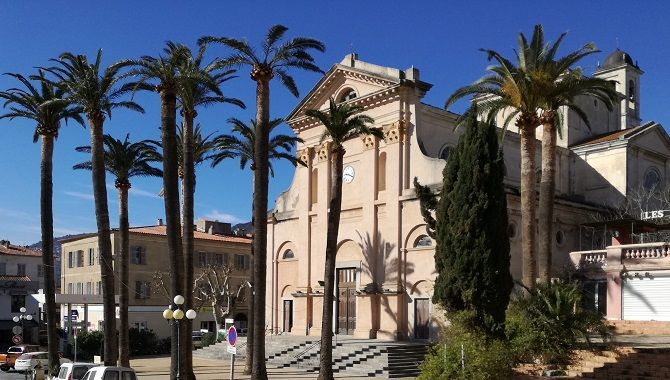 Corse Ile Rousse Immaculee Conception