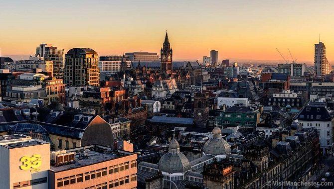 Manchester vue ensemble