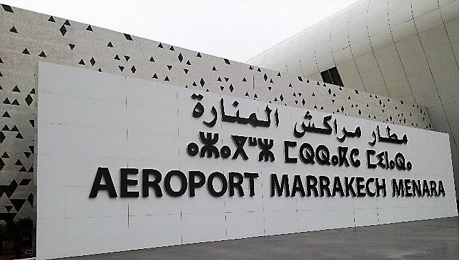Marrakech Aeroport facade