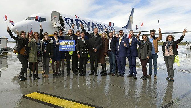 Bordeaux lancement base Ryanair