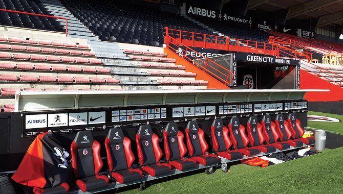Toulouse Manatour Stade toulousain banc de touche