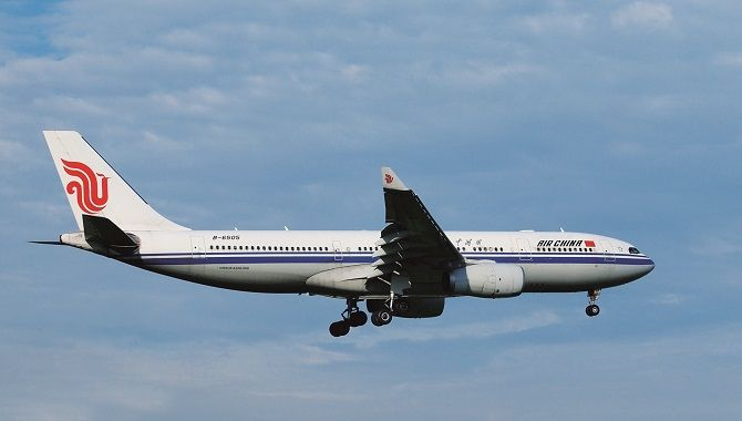 Air China approche