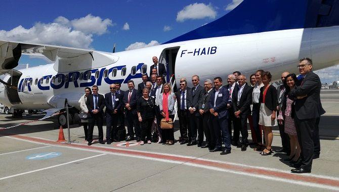 Air Corsica lancement La Liaison