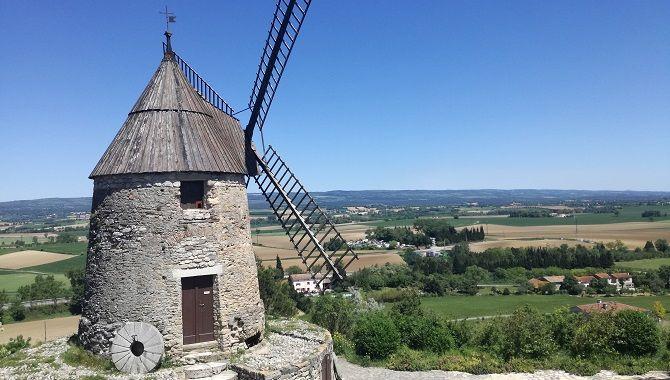 Castelnaudary moulin de Cugurel