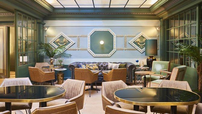 Bordeaux Hotel Konti petit dejeuner