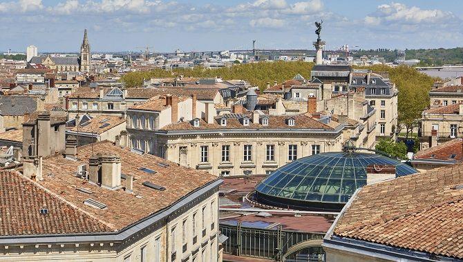 Bordeaux Hotel Konti vue terrasse