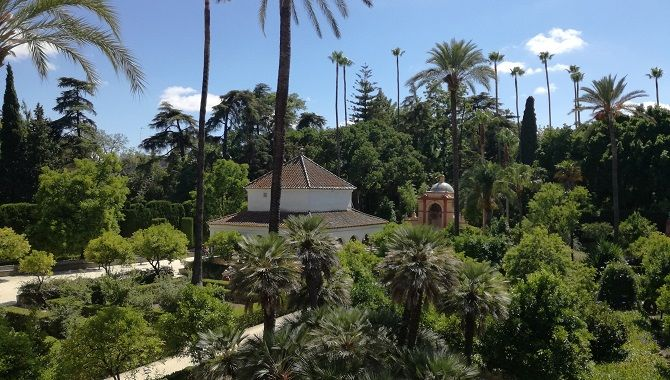 Seville Real Alcazar jardins