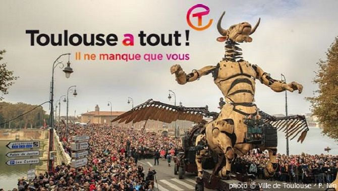 Toulouse a tout Minotaure campagne 2019