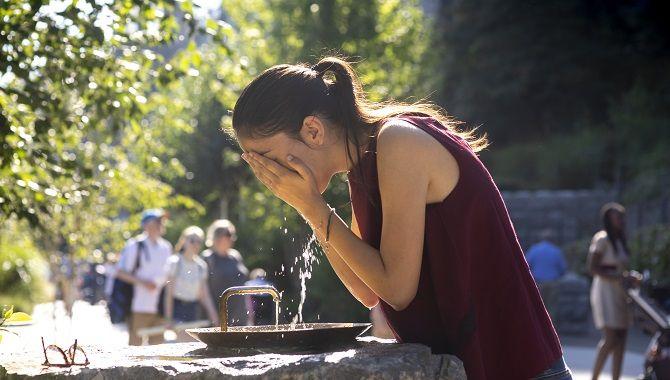 Lourdes jardin des fontaines