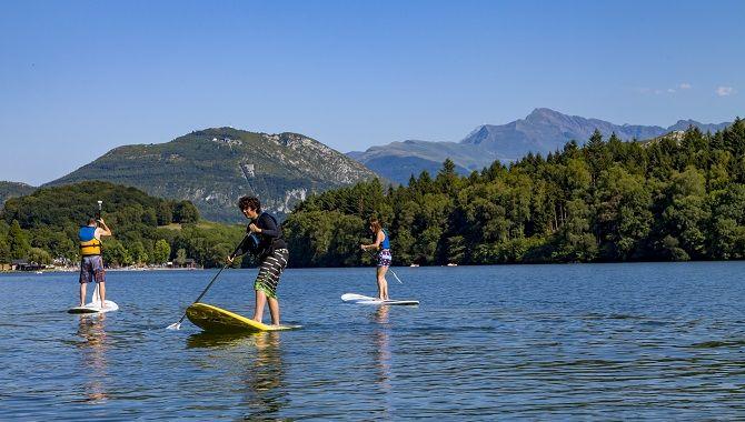 Lourdes lac de Lourdes