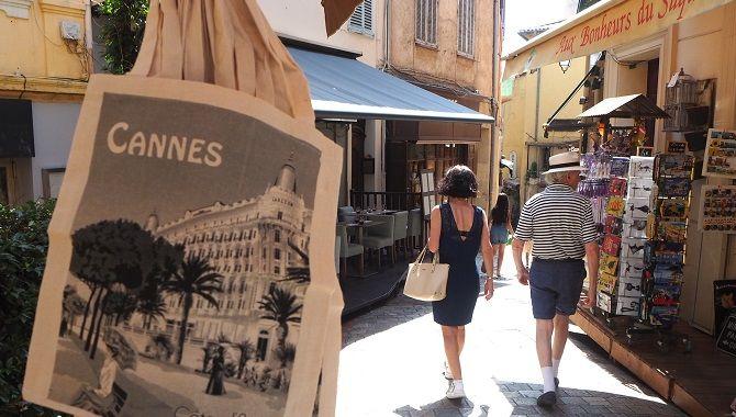 Cannes quartier du Suquet