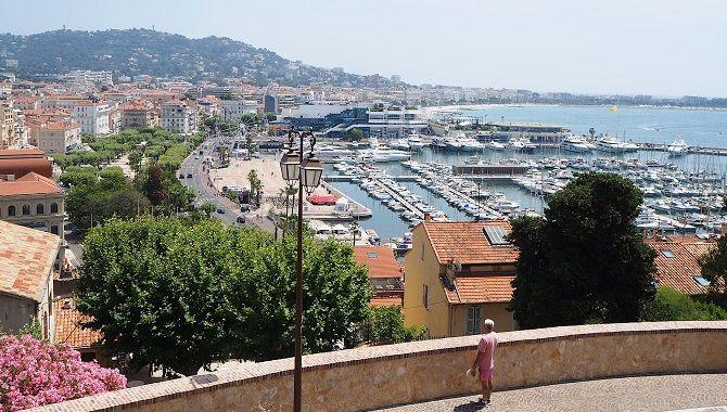 Cannes vue de la Tour du Suquet