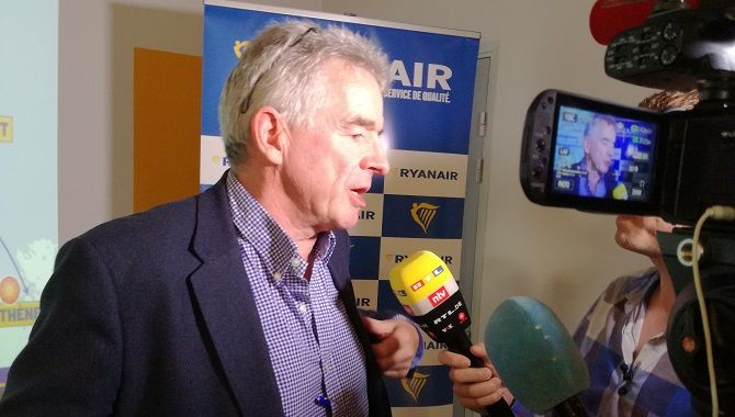 Ryanair O Leary lancement base TLS