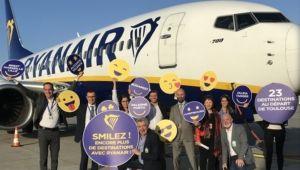 Ryanair lancement base TLS