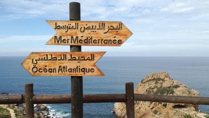 Tanger atlantique et mediterranee